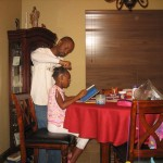 SAHD Life: Doing My Daughter's Hair for School