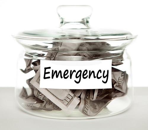 emergency savings jar for military families