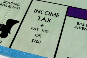 Monopoly Income Tax image by Stockmonkeys.com via CC by 2.0.