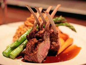 Rack of Lamb Presentation by waferboard's Flickr feed via CC by 2.0
