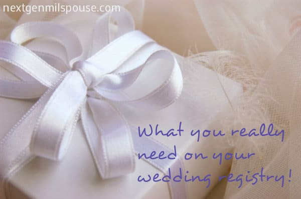 Wedding Gift List Next : Getting Married? Register for Stuff You Actually Need - NextGen ...