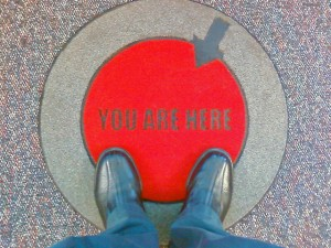 You are here by joelogon Flickr feed via CC by 2.0.