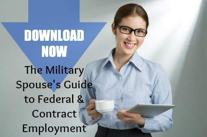 milspouse guide to fed and contract employment