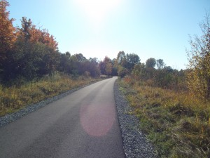Black River Trail in October 2011