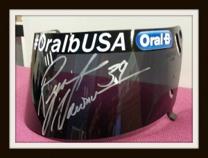Our grand prize winner will receive a race visor signed and worn by none other than NASCAR driver #39, Ryan Newman.