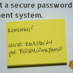 Sticky Note To Self: Don't Put Passwords on Sticky Notes, Dummy!  #LionLock
