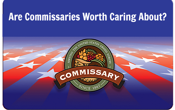care about commisssaries