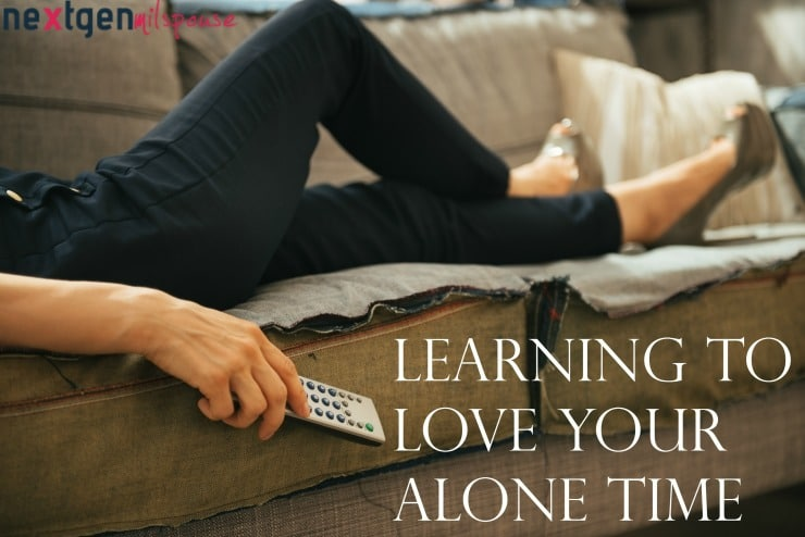 How Military Spouses Can Learn to Love Their Alone Time
