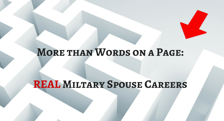A Real Look at Real Military Spouse Career Struggles and Fears