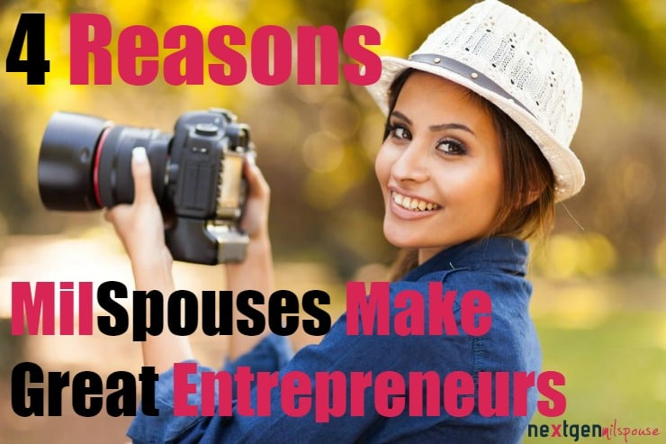 As military spouses, we all know the difficulty of maintaining a mailing address for more than 3 years, yet alone a consistent career. Enter entrepreneurship: our society's most flexible career option.