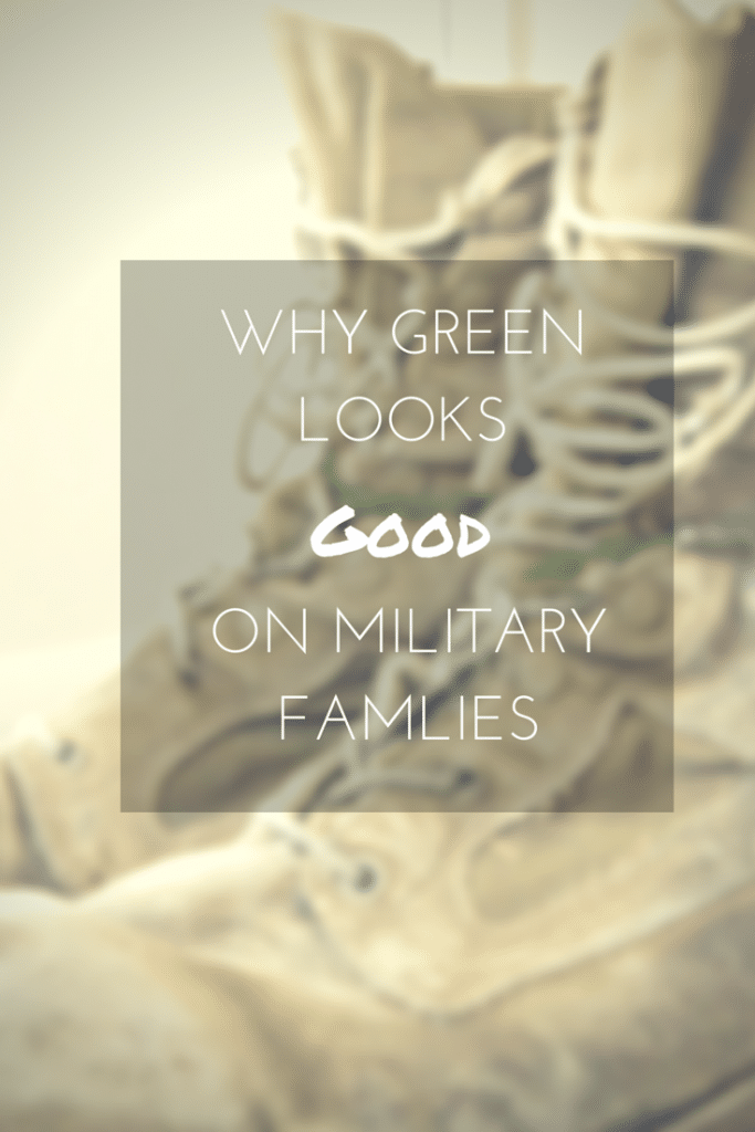 Why Green Looks Good on Military Families