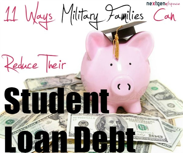 11 Ways to Reduce Your Student Loan Debt