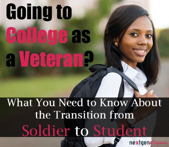 Going to College as a Veteran? Here's What You Need to Know