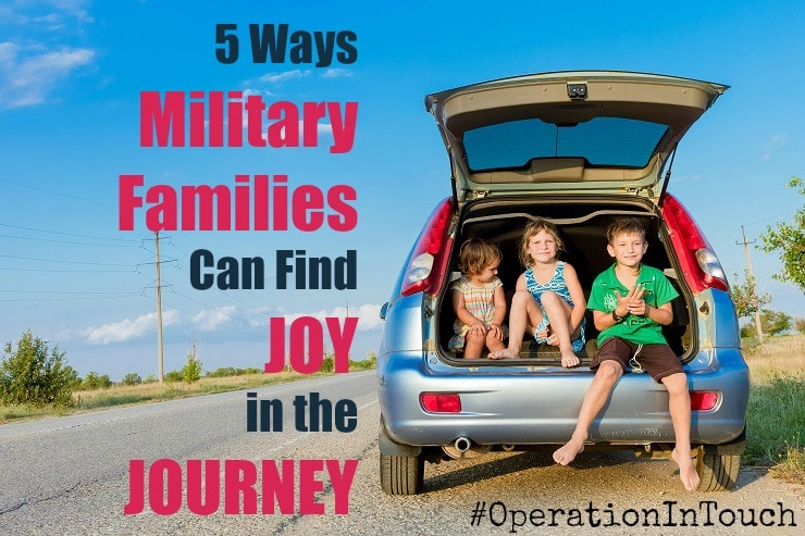 5 Ways Military Families Can Find Joy in the Journey