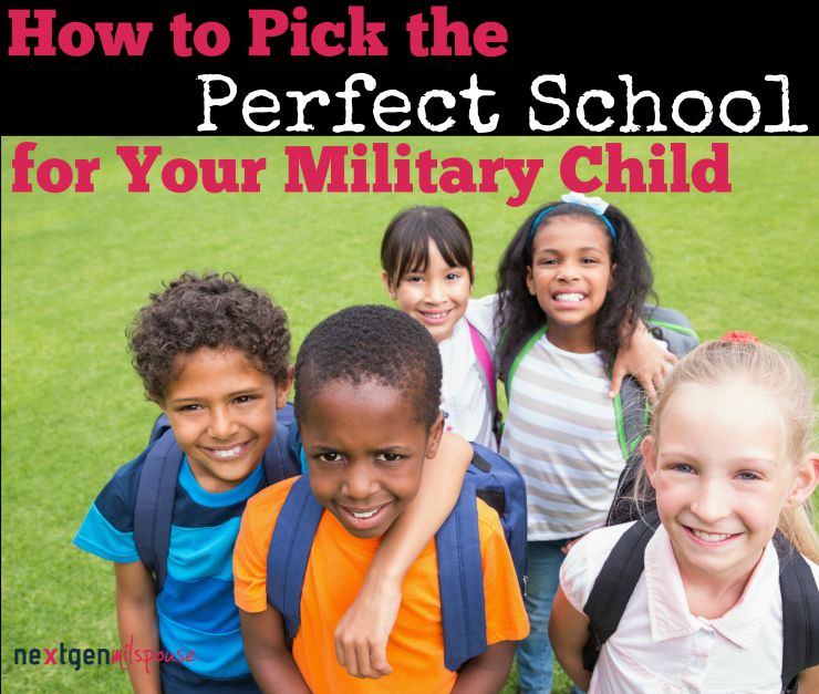 How to Pick the Perfect School for Your Military Child