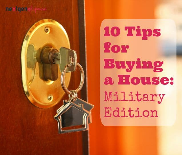 10 Tips for Military Couples on Buying Houses
