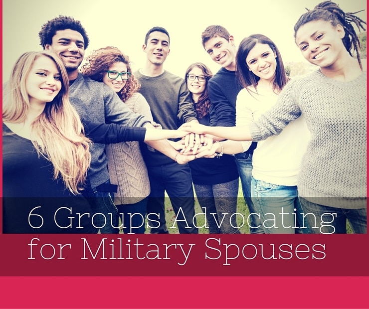 6 Groups Advocating for Military Spouses