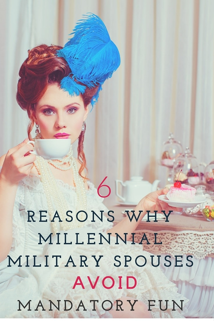6 Reasons Why Military Spouses Avoid Military Mandatory Fun