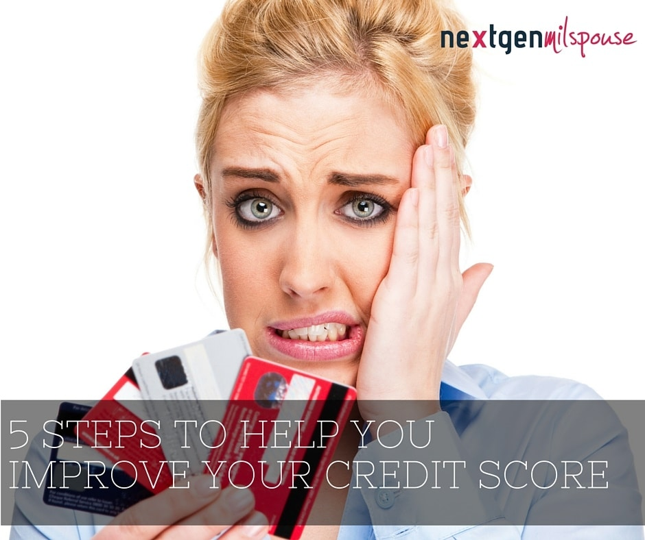 5 Steps to Help You Improve Your Credit Score