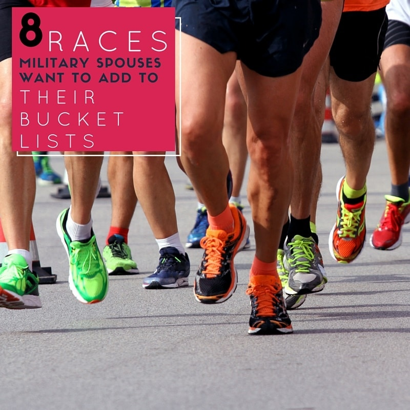 8 Races Military Spouses Want to Add to Their Bucket Lists pinnable