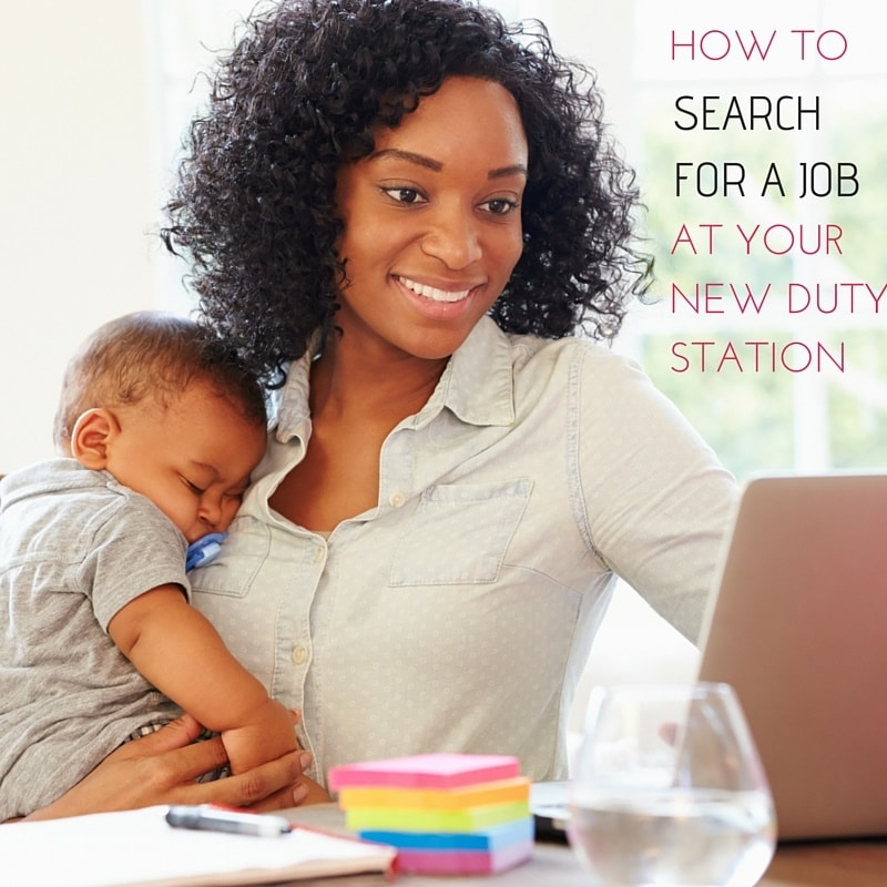 How to Search for a Job at Your New Duty Station During a PCS
