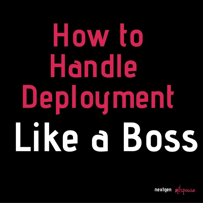 Military spouses, you can handle deployment like a boss. (1)