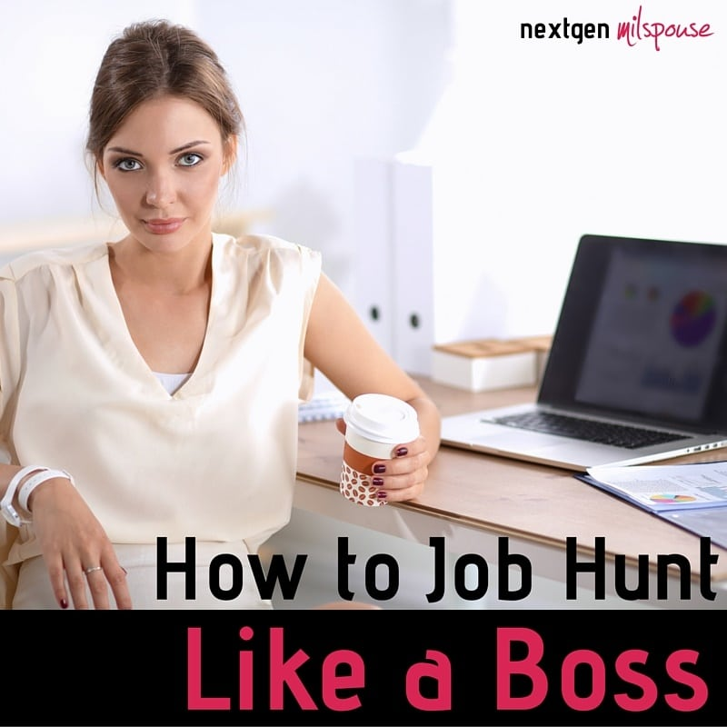 Pinnable How to Job Hunt Like a Boss