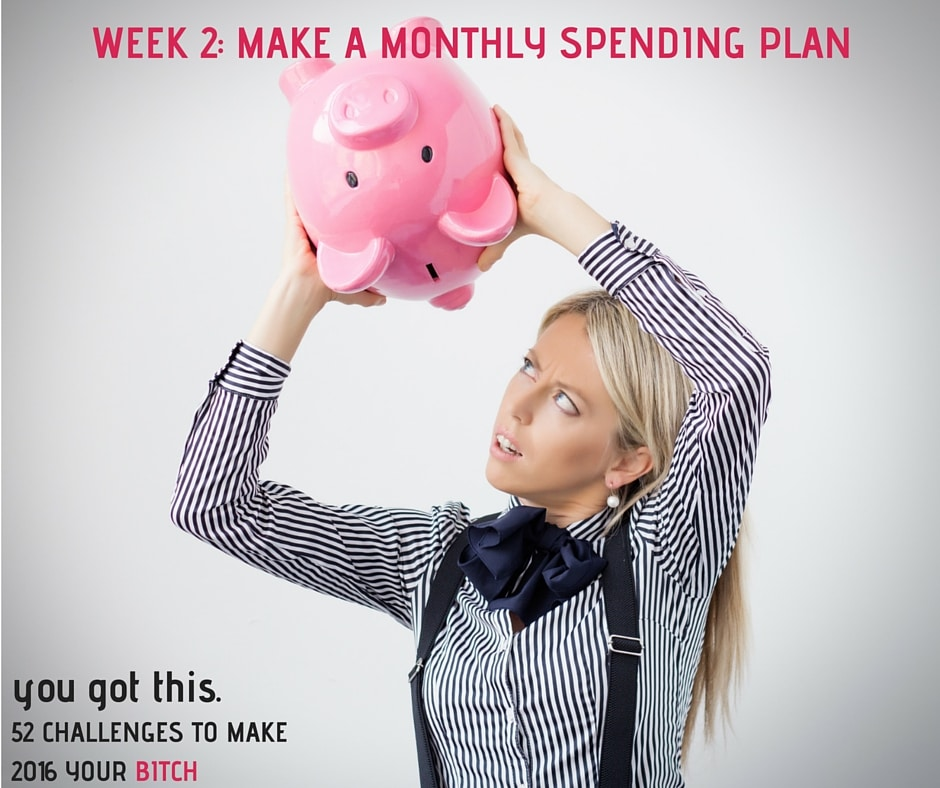 Week 2- Make a Monthly Spending Plan FB Optimized