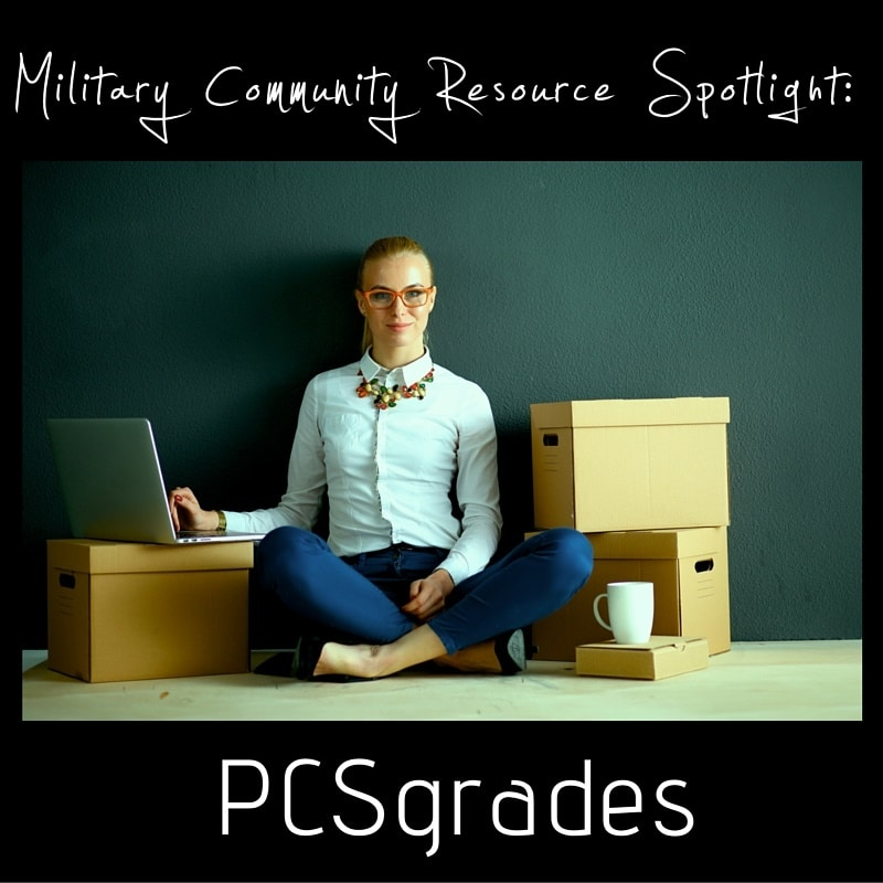 Military Community Resource Spotlight- PCSgrades pinnable
