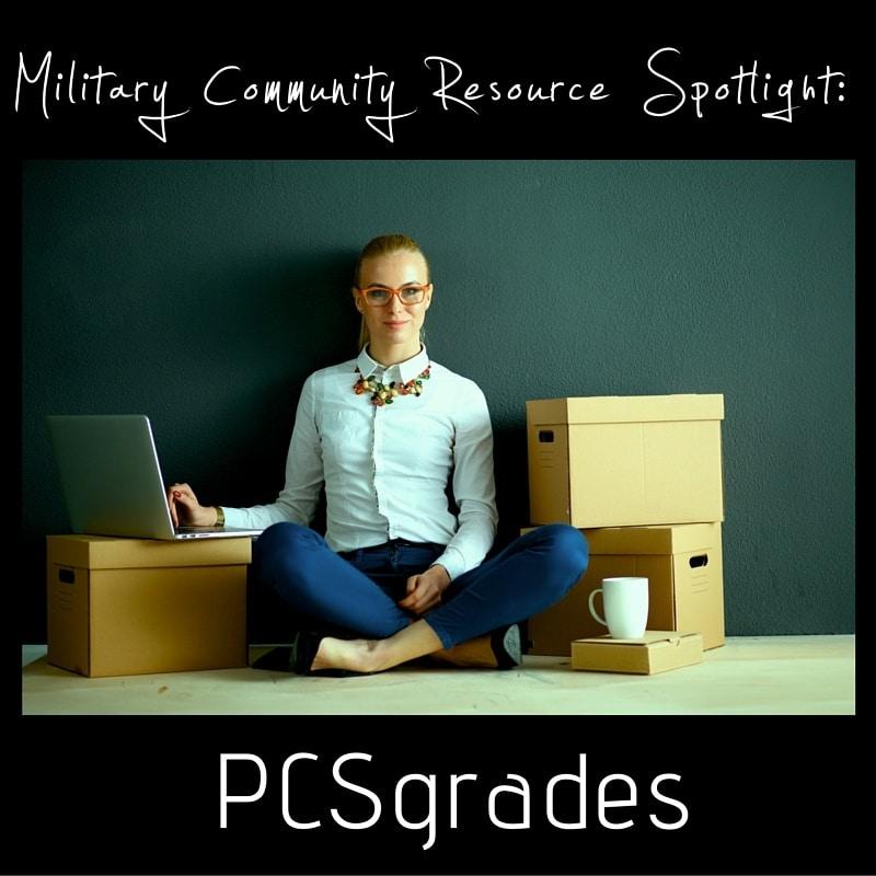 Military Community Resource Spotlight- PCSgrades pinnable