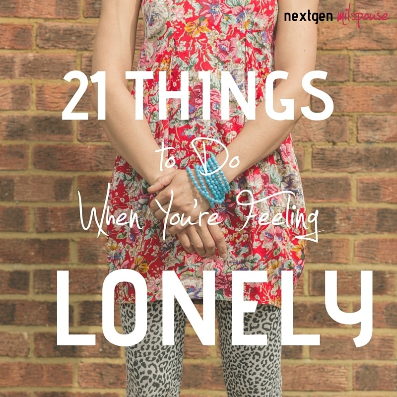 21 Things to Do When You're Feeling Lonely