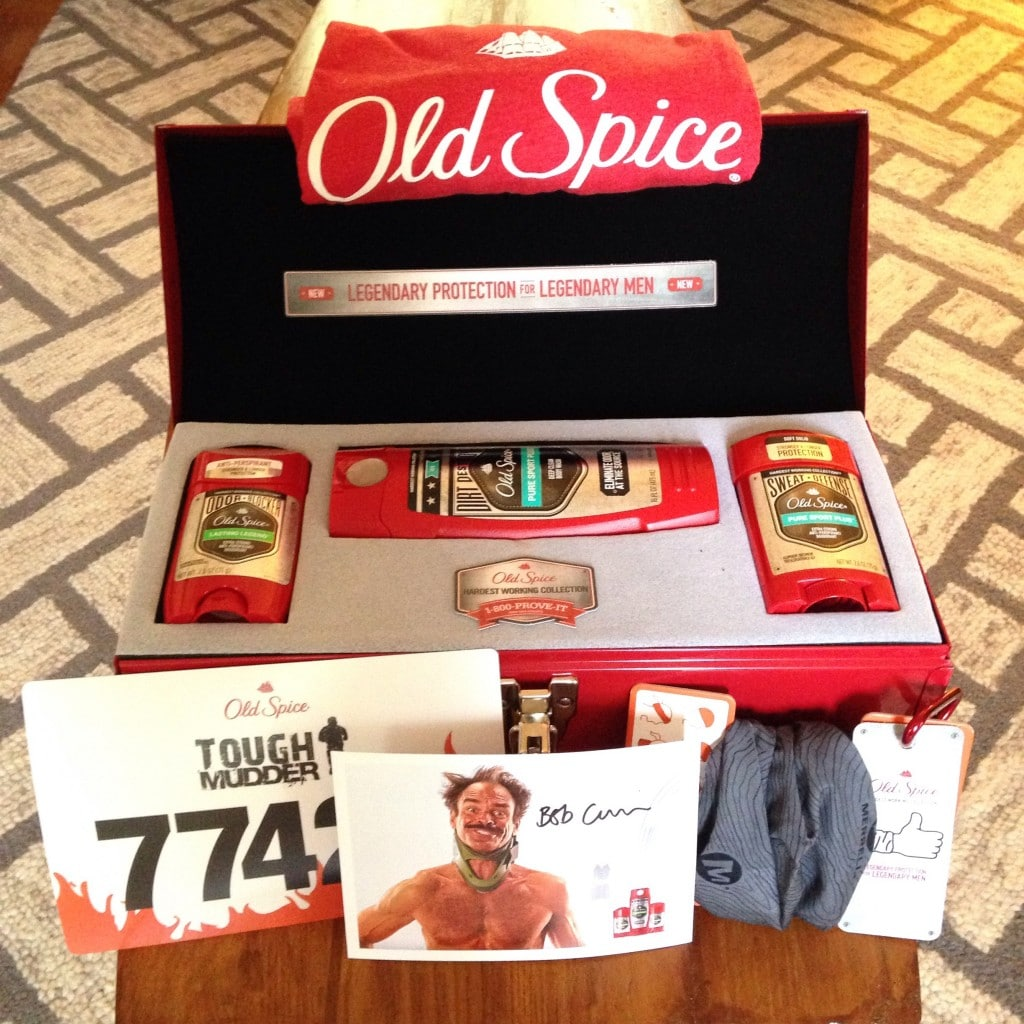 Old Spice Hardest Working Collection Prize Pack