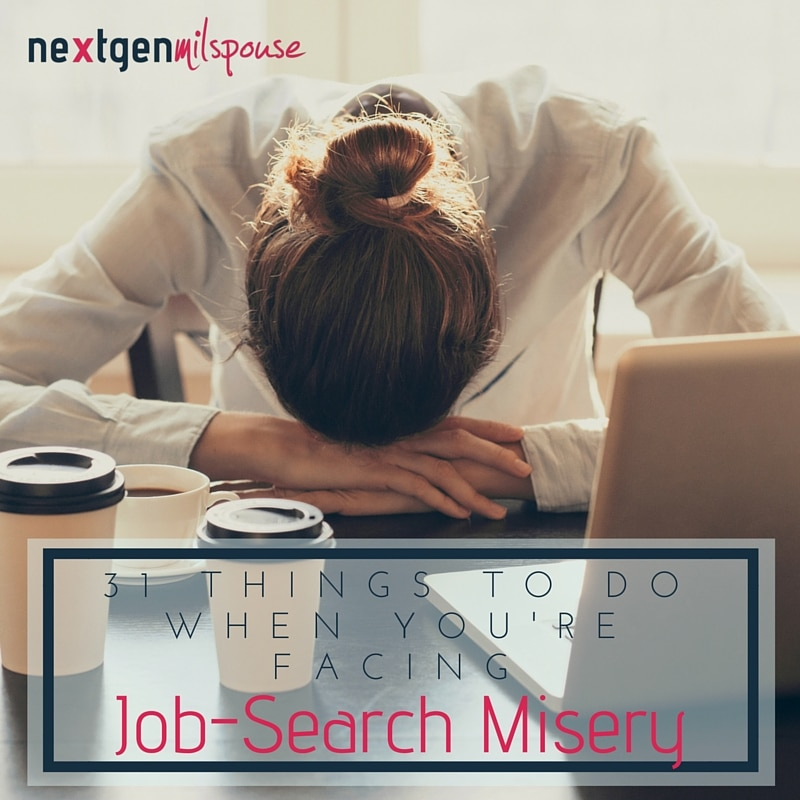 31 Things to Do When You're Facing Job-Search Misery