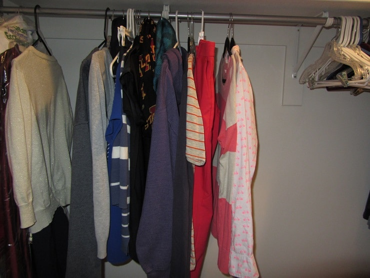 52 Goals Week 17: Downsize Your Closet