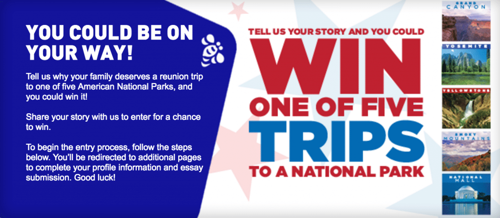 Operation In Touch Red White and Blue Essay Contest