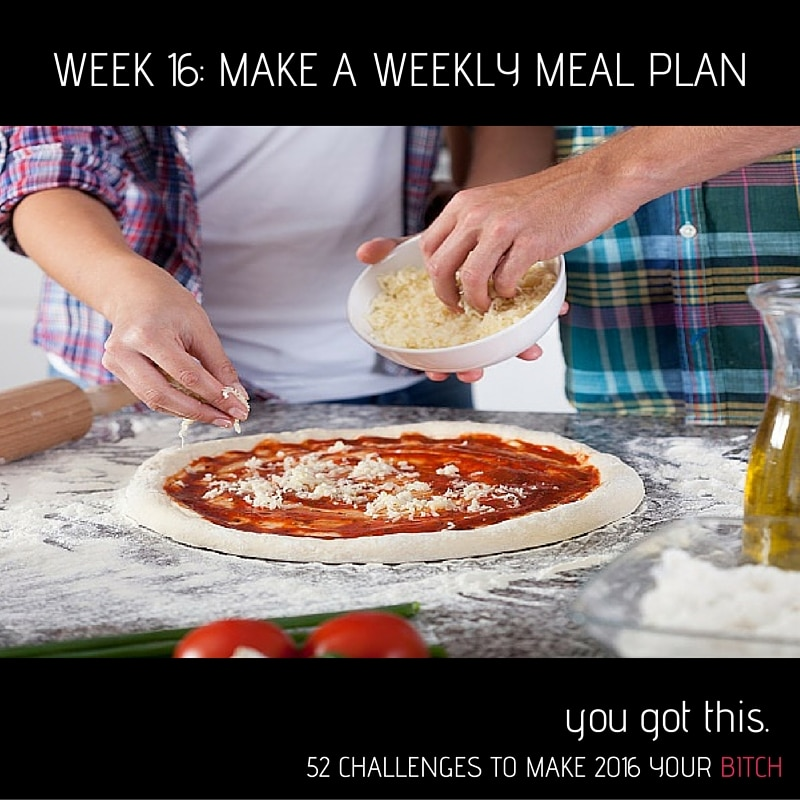 pinnable week 16 make a weekly meal plan