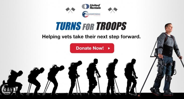 United Rentals & SoldierStrong Give 'Suit Up' a New Meaning for Injured Veterans