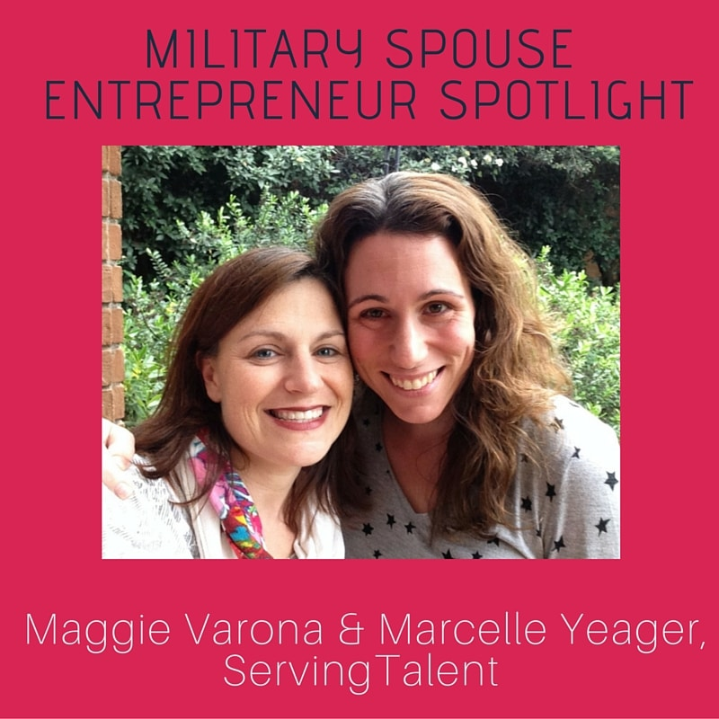 Military Spouse Entrepreneur Spotlight Maggie Varona of ServingTalent