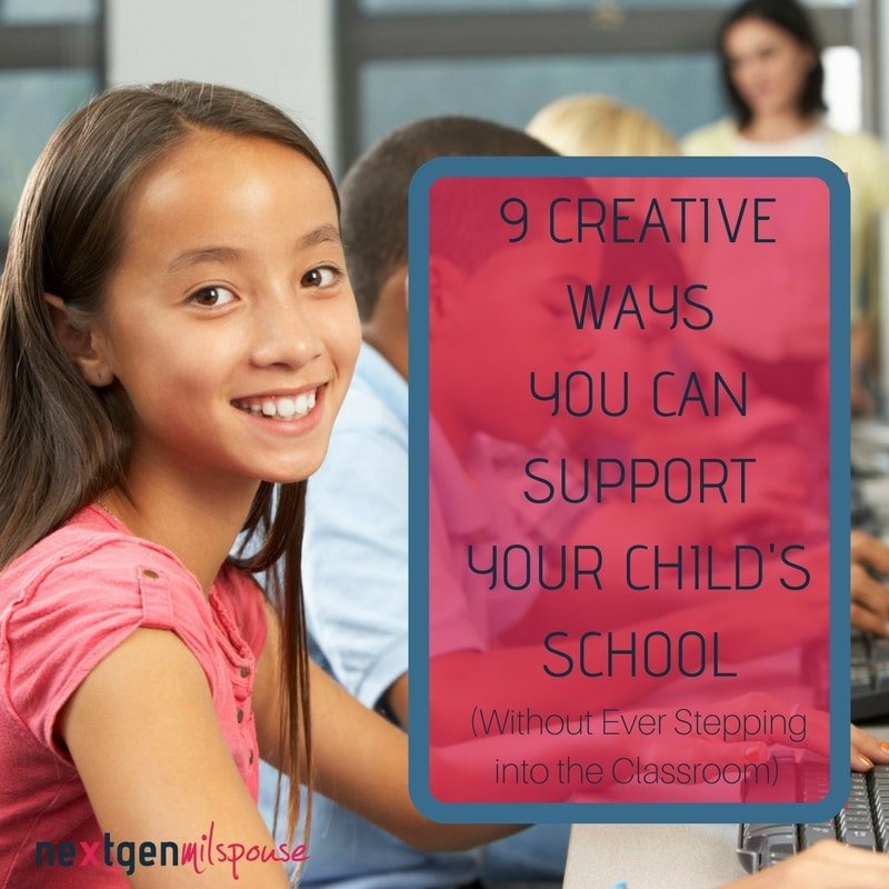 9 Ways You Can Support Your Kid's School