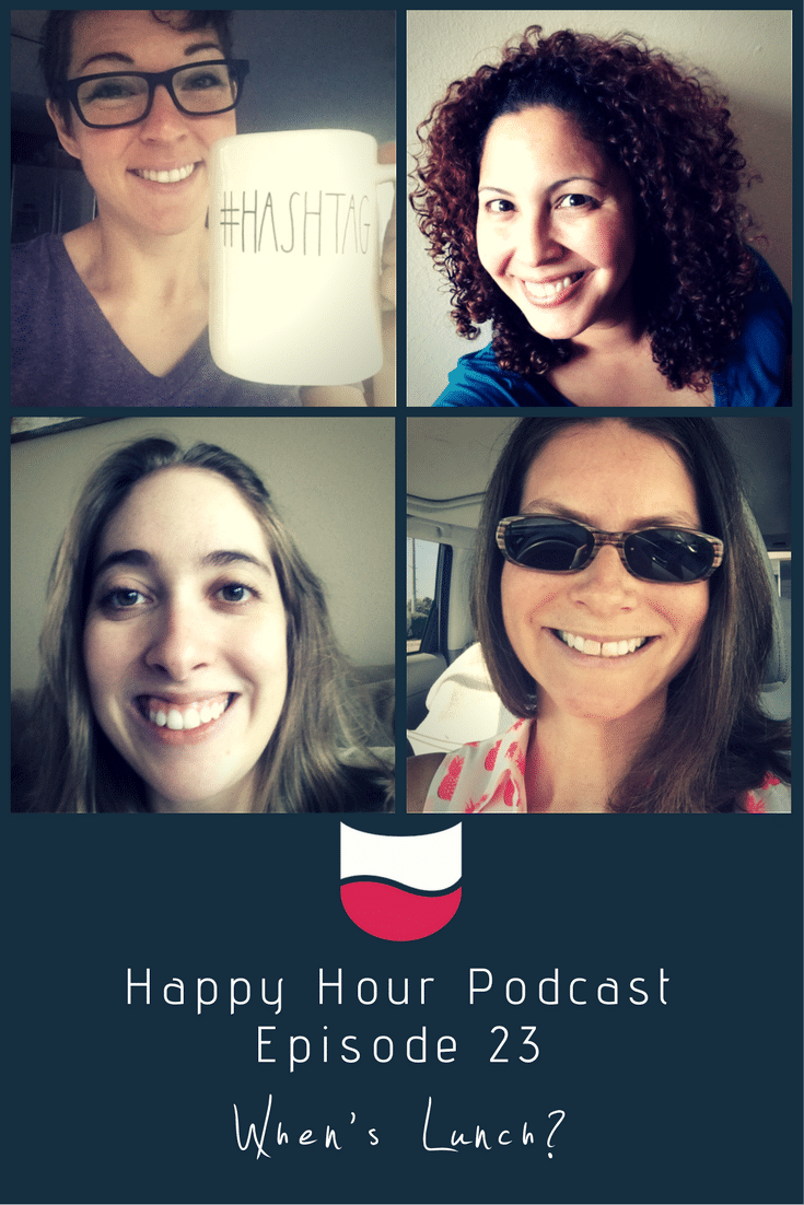 Episode 23- Happy Hour Podcast Pin