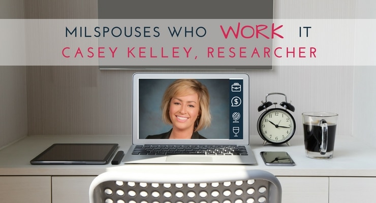 "Military spouse Casey Kelley says ""It's sad but true that some employers will refuse to hire you if they find out you're a military spouse."" But don't give up in your job search. You will find a military-friendly employer."