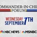How to Watch Tonight's Commander-in-Chief Forum Online