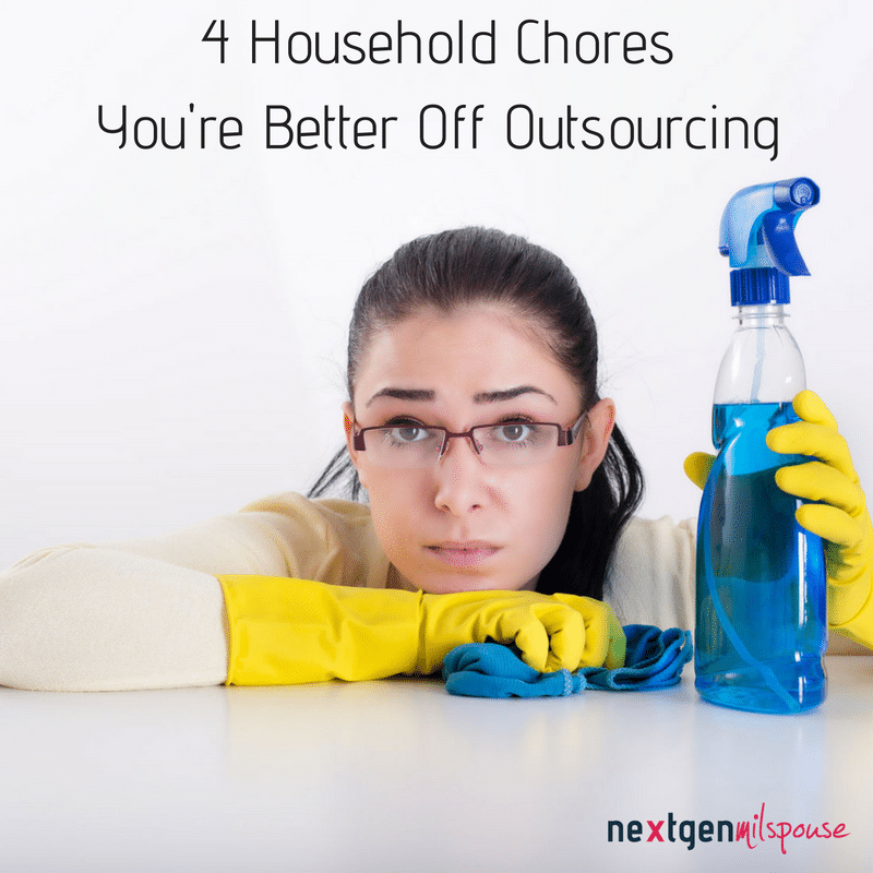 Here are 4 household chores working moms may want to consider outsourcing