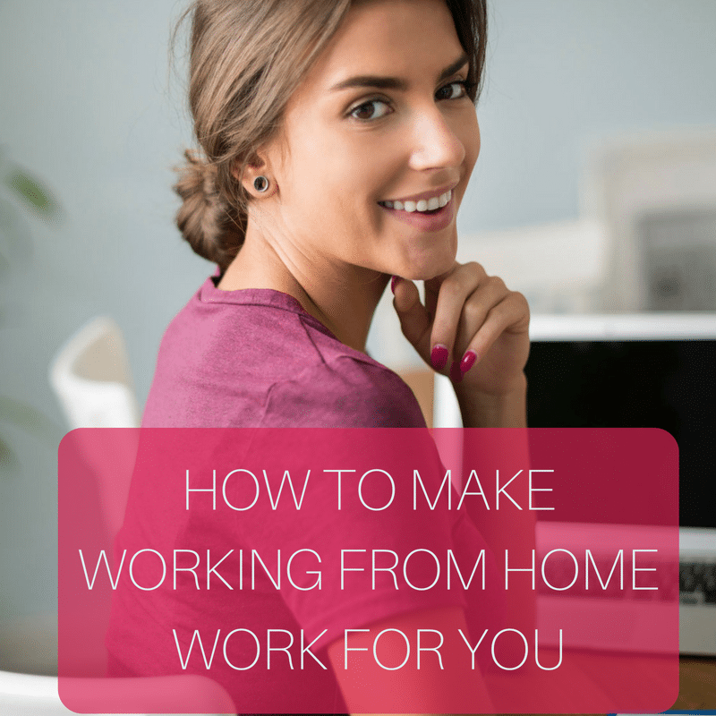 Here are my 5 work from home commandments to help me conquer my to-do list every day.