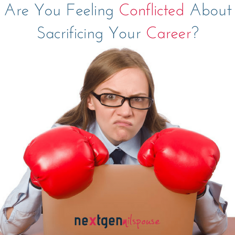 Are You Feeling Conflicted About Sacrificing Your Career? You Aren't Alone!