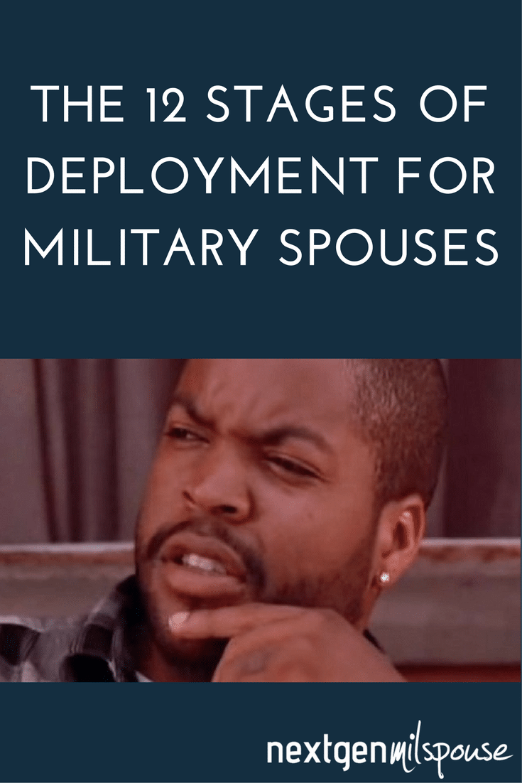 The 12 Stages of Deployment for Military Spouses In GIFs