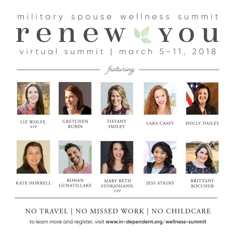 3rd annual Military Spouse Wellness Summit: Renew You