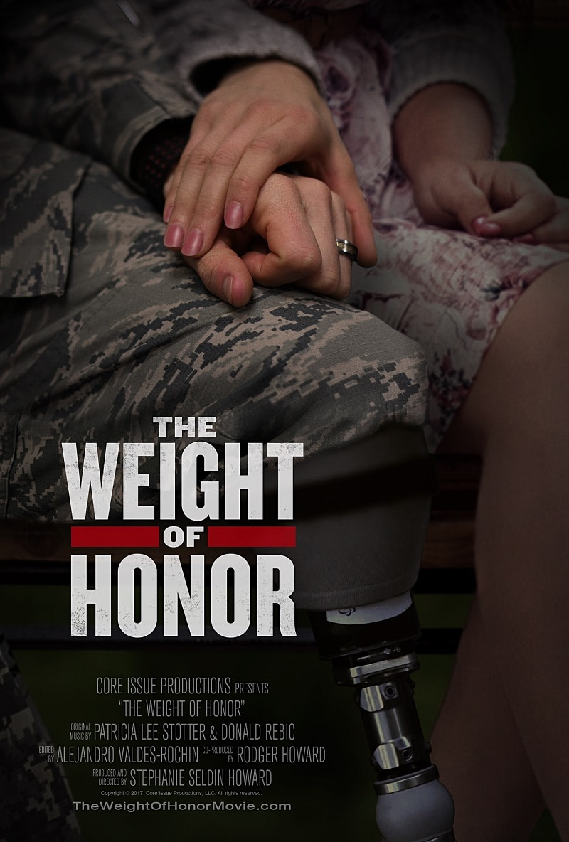 "Our guest is Stephanie Seldin Howard, director of ""The Weight of Honor,"" a new documentary chronicling the lives of caregivers of wounded veterans."
