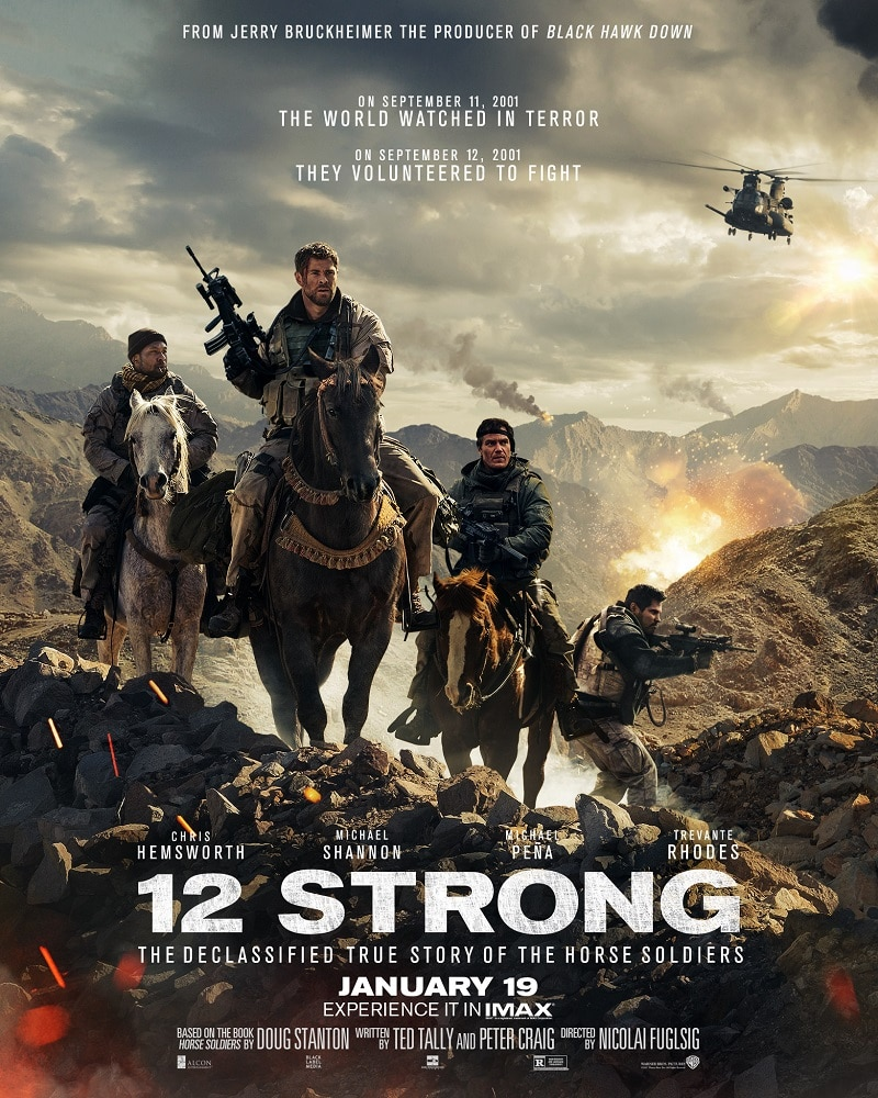 '12 Strong' Tells The True Story Of Our Military Heroes