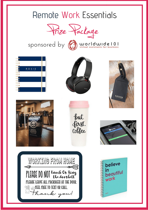 NextGen MilSpouse's Remote Work Essentials Giveaway Sponsored By Worldwide 101